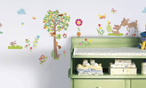 mural woodland animal wall stickers wonderful wall murals decals