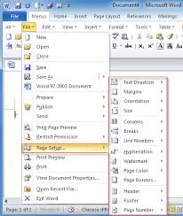 Where Is Page Setup In Office 2007 2010 2013 And 365