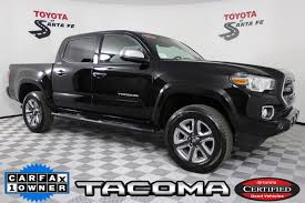 100 Santa Fe Truck Certified PreOwned 2017 Toyota Tacoma Limited In