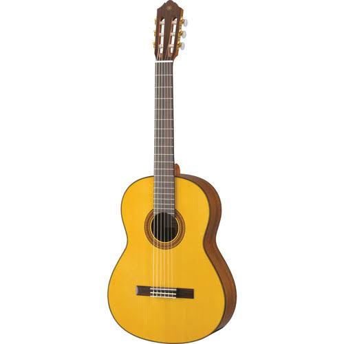 Yamaha CG162S Spruce Top Classical Guitar - Natural, Spruce Top