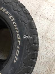 BF GOODRICH ALL TERRAIN TYRES - Set Of 4 Tyres   Qatar Living Best All Terrain Tires Buy In 2017 Youtube Cheap On And Off Road Treadwright Whats The Difference Between Mud Duravis M700 Hd Allterrain Heavy Duty Truck Tire Bridgestone Proline Destroyer 26 M3 For Clod Buster Amazoncom Mudterrain Light Suv Automotive Pro117014 Wheels Rc Planet Toyo Open Country At Ii Radial 23580r17 120r What Is Best All Terrain Tire To Consider Ford F150 Forum Homey Inspiration Pro Comp Xtreme A T Lizetti All Terrain