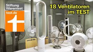 test ventilatoren 2020 die besten tisch stand und turmventilatoren stiftung warentest