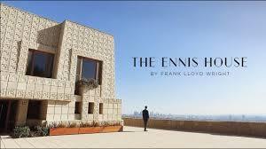 100 Frank Lloyd Wright La The Ennis House By NBC Open House