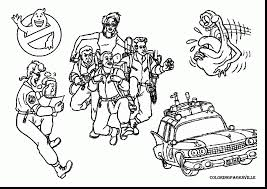 Unbelievable Ghostbusters Coloring Pages Picture With And
