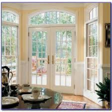 Andersen Outswing French Patio Doors by Outswing French Patio Doors With Blinds Patios Home Decorating