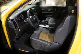 100 Rumble Bee Truck Inside Design Ram 1500 Concept Mopar Insiders