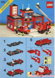LEGO 6385 Fire House-I Set Parts Inventory And Instructions - LEGO ...