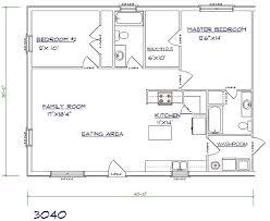 Pole Barn Home Floor Plans With Basement by Best 25 30x40 Pole Barn Ideas On Pinterest 30x40 House Plans
