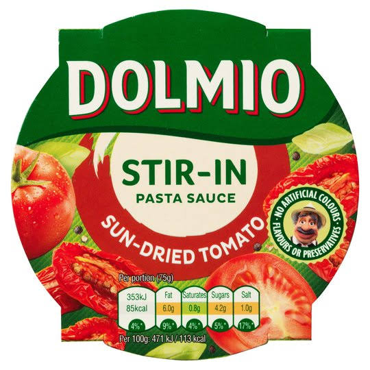 Dolmio Stir in Sun Dried Tomato Pasta Sauce 150 G