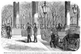 GRANTS INAUGURATION 1869 Ulysses S Grant Entering The White House After His Inauguration