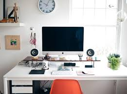 20 Minimal Home Office Design Ideas | Inspirationfeed Office Ideas Minimalist Home Ipirations Modern Beautiful Minimalist Office Interior Design 20 Minimal Design Inspirationfeed Designs Work Area Two Apartments In A Family With Bright Bedroom For The Kids Best Ideal Hk1lh 16937 Scdinavian White Color Wooden Desk Peenmediacom Floating Imac And