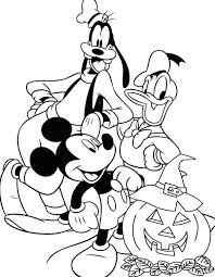 Disney Junior Coloring Pages Mickey Mouse Clubhouse Halloween