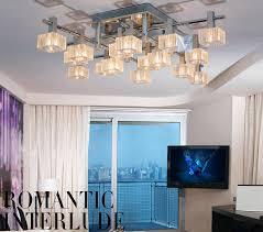 modern semi flush mount ceiling light with g4 bulb base
