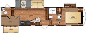 Montana Fifth Wheel Floor Plans 2006 by Wildcat Fifth Wheels Floorplans By Forest River Rv Colonia Del