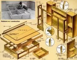 Loft Bed Woodworking Plans by 144 Best Furniture Loft Beds Images On Pinterest Build A Loft