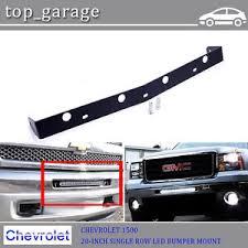 for 07 13 chevy silverado 20 single row led light bar bumper