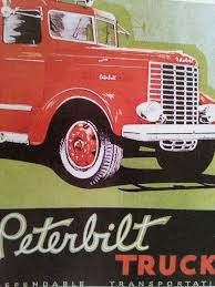 100 Truck Store Werbeplakat Fr Den Peterbilt 334 1939 Big Trucks