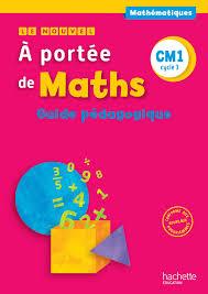 fr le nouvel a portée de maths cm1 guide pédagogique