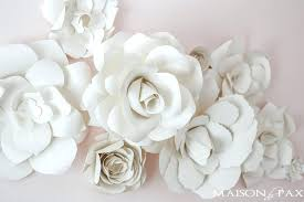 Cool Wall Decor Paper Flowers As In A Nursery What Gorgeous Soft