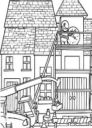 Bob The Builder Build Clock Tower Coloring Pages