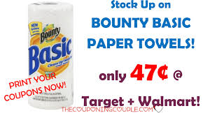 Bounty Basic Paper Towels Coupon Means $0.47 Rolls @ Target ... New Walmart Coupon Policy From Coporate Printable Version Photo Centre Canada Get 40 46 Photos For Just 1 Passport Photo Deals Williams Sonoma Home Online How To Find Grocery Coupons Online One Day Richer Coupons Canada Best Buy Appliances Clearance And Food For 10 November 2019 Norelco Deals Common Sense Com Promo Code Chief Hot 2 High Value Tide Available To Prting Coupon Sb 6141 New Balance Kohls