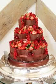 Chocolate Cigarello And Berry This Wedding Cake