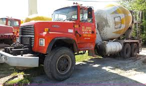 100 Used Mixer Trucks For Sale 1995 D LT9000 Mixer Truck Item L2023 SOLD July 14 Co