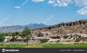 100 Modern Homes Arizona Urban Houses Desert Life Usa Stock