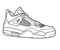 Jordan Shoe Coloring Sheets Wwwcoloring Pages Book For Kids Boyscom