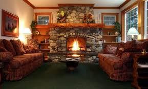 bildergebnis für gemütliches wohnzimmer mit kamin hütte