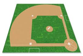 baseball field rug kidcarpet