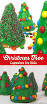 Rice Krispie Christmas Trees White Chocolate by Christmas Tree Cupcakes For Kids Two Sisters Crafting