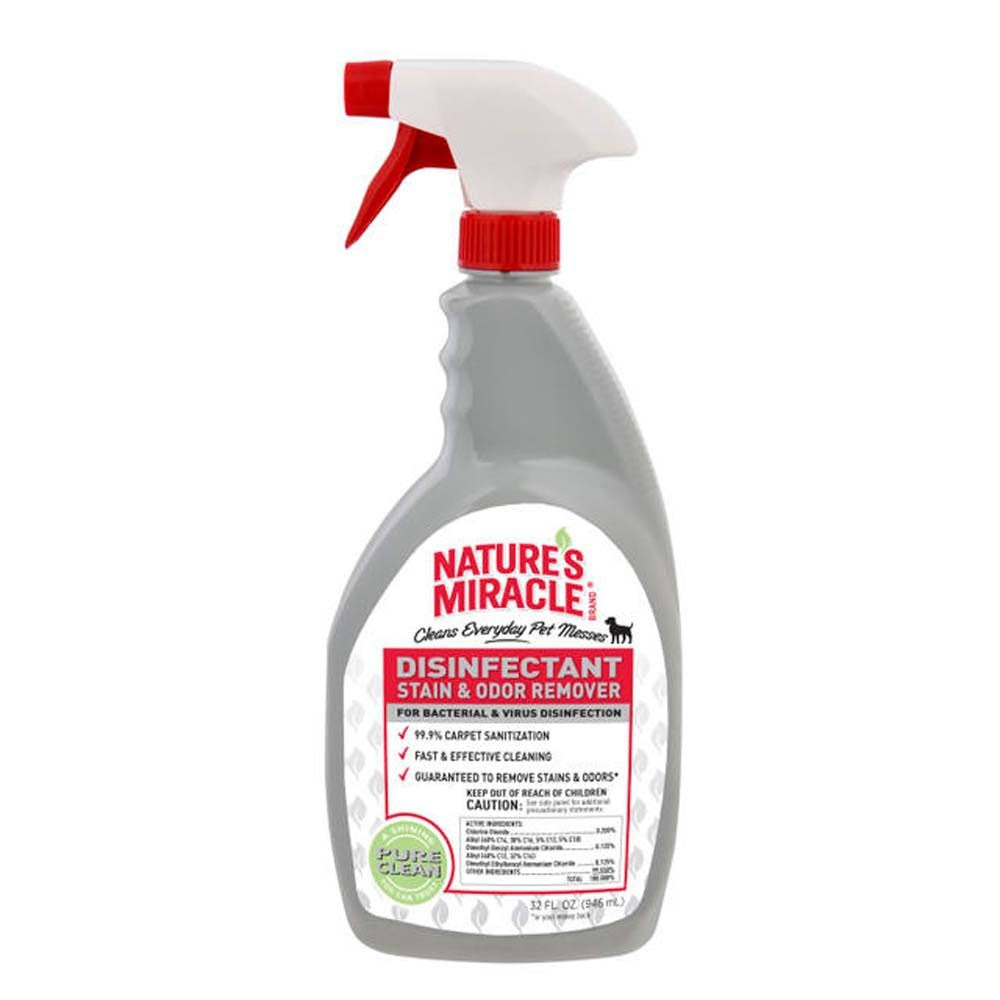 Nature's Miracle NM-5479 Brand Disinfectant Stain/Odor Remover - 32oz