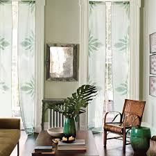 Curtain Grommet Kit Home Depot by No Sew Applique Curtains With Ginger Flower Print Martha Stewart