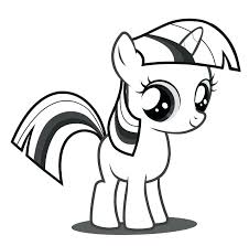 My Little Pony Coloring Pages Twilight Sparkle Alicorn 2513146