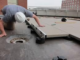 Kontiki Interlocking Deck Tiles Engineered Polymer Series by Pedestal Paving Edge Detail Install Landscape Materials