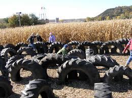 Pumpkin Patch Near Madison Wi by Treinen Farm Tractor Tire Playground Treinen Farm Corn Maze