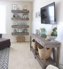 75 Amazing Rustic Farmhouse Style Living Room Design Ideas Wall Decor