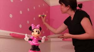 home decoration for toddler room wall minnie