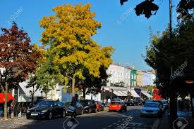 100 Westbourn Grove E Notting Hill In Spring Stock Photo Picture And