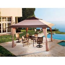Gazebo: Heavy Duty Canopy | 10x10 Gazebo Replacement Canopy ... Garden Sunjoy Gazebo Replacement Awnings For Gazebos Pergola Winds Canopy Top 12x10 Patio Custom Outdoor Target Cover Best Pergola Your Ideas Amazing Rustic Essential Callaway Hexagon Patios Sears