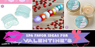 Spa Themed Favor Ideas For A Valentines Day Bridal Shower