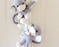 White Antler Curtain Tie Back by Curtain Tie Backs Etsy