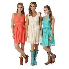 Wrangler Women's Coral Lace Sleeveless Dress | D&D Texas ... 6 Outfits To Wear A Backyard Style Wedding Rustic Wedding Drses And Gowns For A Country Bresmaid Winecountry Barn In Sonoma Valley California Inside Attire 5 Whattowear Clues Cove Girl New 200 Rustic Wedding Guest Attire Rustic What To Fall 60 Guests Best 25 Drses Ideas On Pinterest Chic Short With Cowboy Boots Boho Bride Her Quirky Love My Dress