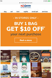 PetSmart: Buy One Bag Of Dog Or Cat Food, Get $10 Off Your Next ... Petsmart Grooming Coupon 10 Off Coupons 2015 October Spend 40 On Hills Prescription Dogcat Food Get Coupon For Zion Judaica Code Pet Hotel Coupons Petsmart Traing 2019 Kia Superstore 3tailer Momma Deals Fish Print Discount Canada November 2018 Printable Orlando That Pet Place Silver 7 Las Vegas Top Punto Medio Noticias Code Direct Vitamine Shoppee Greenies Nevwinter Store