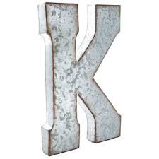 Hobby Lobby Wall Decor Letters by Galvanized Metal Letter Wall Decor K Hobby Lobby 138547
