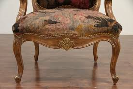 Country French Carved Hickory Large Vintage Chair, Brass Nailhead Trim  #29535 John Mark Power Antiques Conservator Pressed Back Rocking Antique Eastlake Chair In Eastern African Fabric At 1stdibs Leather Vintage Wingback Brass Nailhead Trim Signed Hickory 31240 Alcott Hill Manual Glider Recliner Accent Victorian Country French Carved Large 29535 Reupholster A From The Bones Up 11 Steps With Pictures Dayton Transitional Tuxedo Armchair By Crown Household Fniture Chairs Doggie Chairs Upscale Handles Chalk Paint Seating Gray Farmhouse High Side