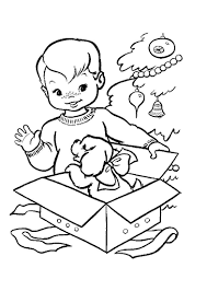 Little Boy Coloring Pages Free Printable For Kids To Print
