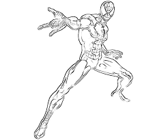 Printable The Amazing Spider Man Coloring Pages