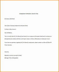 5 employment verification letter with salary